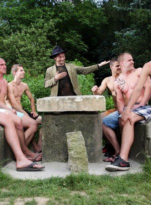 Hot Guy George Basten,Max Born,Benjamin,Robert,