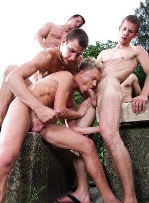 Hunky Gay Robert,Benjamin,Max Born,George Basten,