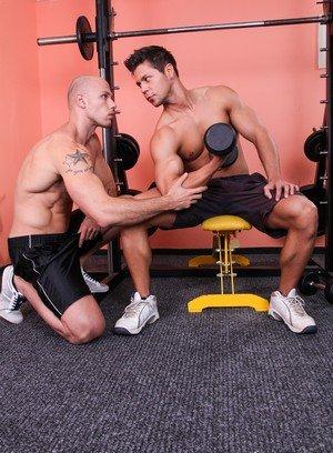 Muscle man Ennio Guardi,Just Angelo,
