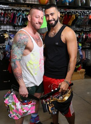 Hot Gay Hugh Hunter,Rikk York,