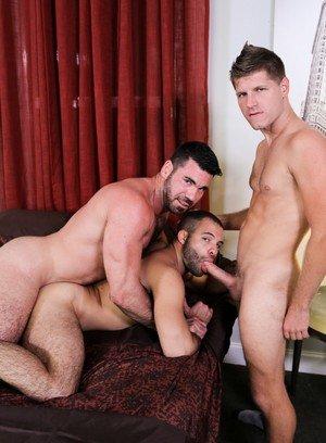 Sexy and confident Billy Santoro,Braxton Smith,Peter Fields,