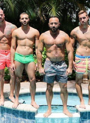 Hot Gay Braxton Smith,Alessio Romero,Trey Turner,