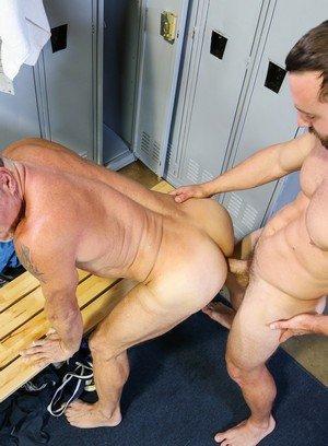 Muscle man Mike Gaite,Peter Fulton,
