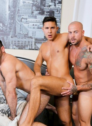 Hunky Gay Sean Duran,Seth Santoro,Billy Santoro,