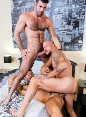 Seductive Man Sean Duran,Seth Santoro,Billy Santoro,