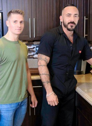 Hot Guy Alessio Romero,Logan Vaughn,