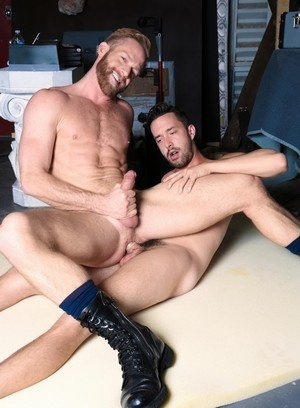Hunky Gay Christopher Daniels,Isaac Hardy,