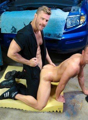 Seductive Man Matt Hart,Landon Conrad,