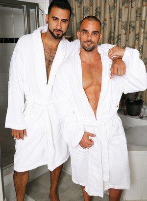 Hot Gay Damien Crosse,Rikk York,