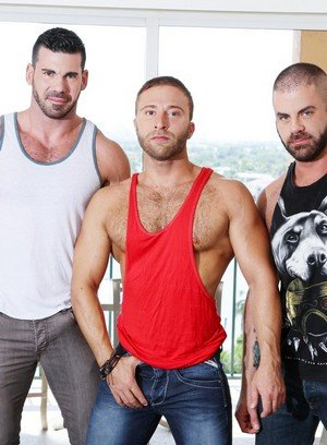 Hot Gay Billy Santoro,Jr Bronson,Marcus Isaacs,