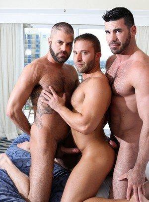 Cute Gay Billy Santoro,Jr Bronson,Marcus Isaacs,