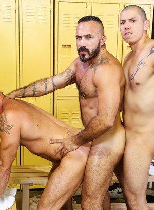 Hunky Gay Benjamin Bronx,Matt Stevens,Alessio Romero,