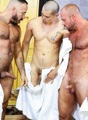 Sexy and confident Alessio Romero,Matt Stevens,Benjamin Bronx,