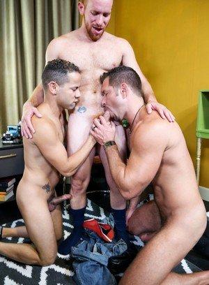 Cute Gay Emanuelk Rosado,Andrew Justice,Steven Ponce,