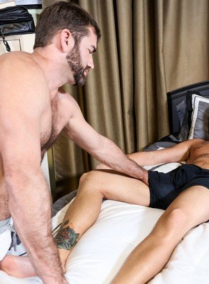 Seductive Man Jake Jennings,Marxel Rios,