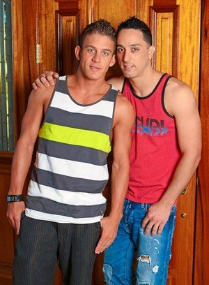 Hot Gay Andrew Fitch,Alexander Gustavo,