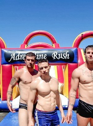 Cute Gay Slate Steele,Dante Martin,Brandon Bronco,
