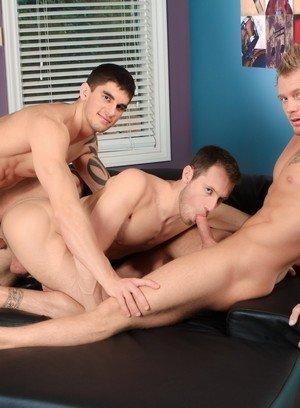 Naked Gay James Huntsman,Kyle Quinn,Tyler Torro,