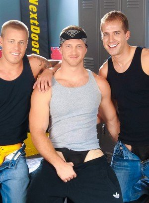 Hot Gay Brandon Lewis,Paul Wagner,