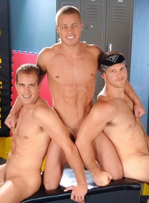 Hunky Gay Brandon Lewis,Paul Wagner,