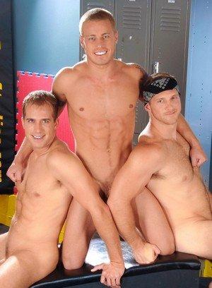 Hunky Gay Paul Wagner,Brandon Lewis,