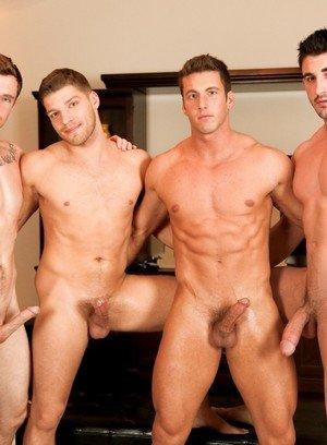 Hot Gay Derrick Dime,Markie More,Bridger Watts,
