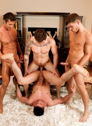 Hunky Gay Markie More,Bridger Watts,Derrick Dime,