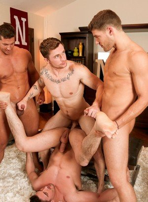 Cock Hungry Guy Markie More,Derrick Dime,Bridger Watts,