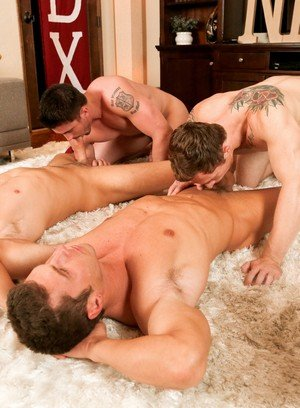 Sexy Guy Derrick Dime,Markie More,Bridger Watts,