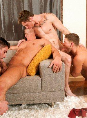 Cute Gay Markie More,Bridger Watts,Derrick Dime,
