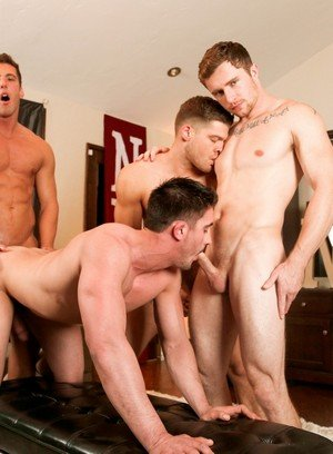 Sexy and confident Markie More,Derrick Dime,Bridger Watts,