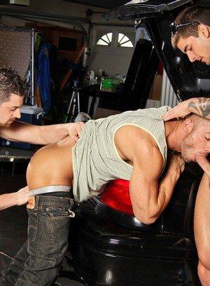 Wild Gay Andrew Stark,Tyler Torro,Rod Daily,