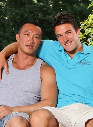 Hot Gay Archer Quan,Trystan Bull,