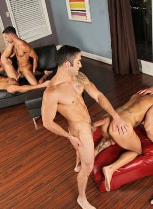 Naked Gay Donny Wright,Rod Daily,Johnny Torque,Marcus Mojo,Brody Wilder,