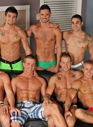 Handsome Guy Marcus Mojo,Johnny Torque,Rod Daily,Donny Wright,Brody Wilder,