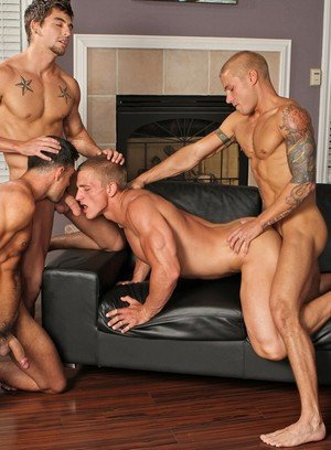 Sexy and confident Marcus Mojo,Johnny Torque,Rod Daily,Donny Wright,Brody Wilder,