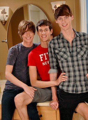 Hot Gay Mike King,Elijah White,Cody Cachet,
