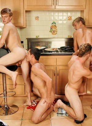 Hot Boy Jay Kohl,Noah Brooks,Alex Waters,Adam Wirthmore,