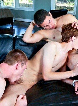 Naked Gay Zeus Xavier,Dakota White,