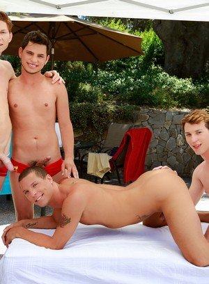 Good Looking Guy Kaiden Haskins,Jake Piper,Landon Terry,