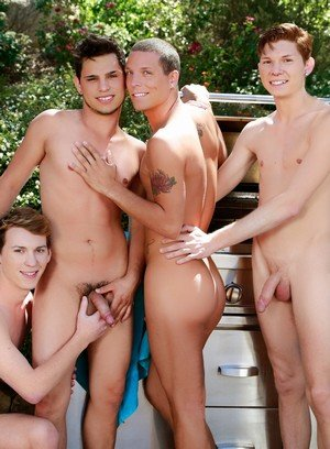 Cute Gay Kaiden Haskins,Jake Piper,Landon Terry,