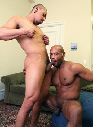 Naked Gay Romero Santos,Marlone Starr,