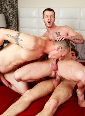 Naked Gay Quentin Gainz,Mark Long,Michael Del Ray,