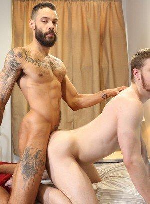 Naked Gay Caleb King,Dylan Henri,