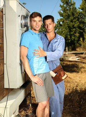 Hunky Gay Colton Casey,