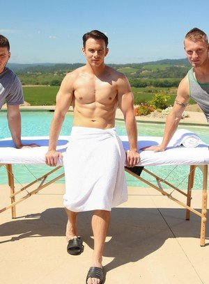 Hot Gay Addison Graham,Jake Karhoff,Ivan James,