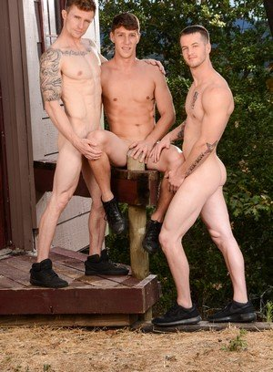 Horny Gay Quentin Gainz,Paul Canon,Markie More,