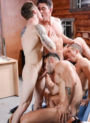 Cute Gay Derrick Dime,Dante Martin,Johnny Torque,Arad,Markie More,