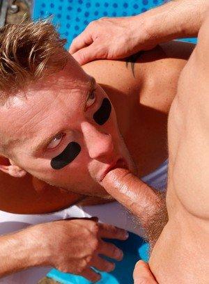 Muscle man Jake Karhoff,