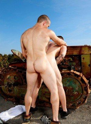 Naked Gay Quentin Gainz,Dante Martin,